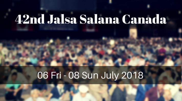 Photo of 42nd Annual Convention (Jalsa Salana) Canada