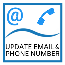 Image for member service to update email and phone