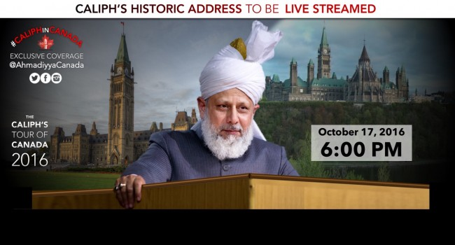 Caliph's Historic Address at Parliament Hill